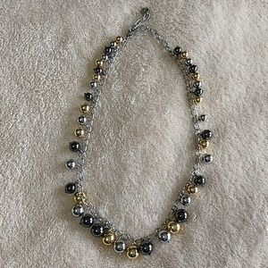 Talbots   Mixed metal necklace